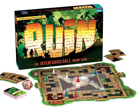 Ruin Board, Box, and Cards